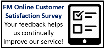 Click to take the FM online customer satisfacion survey